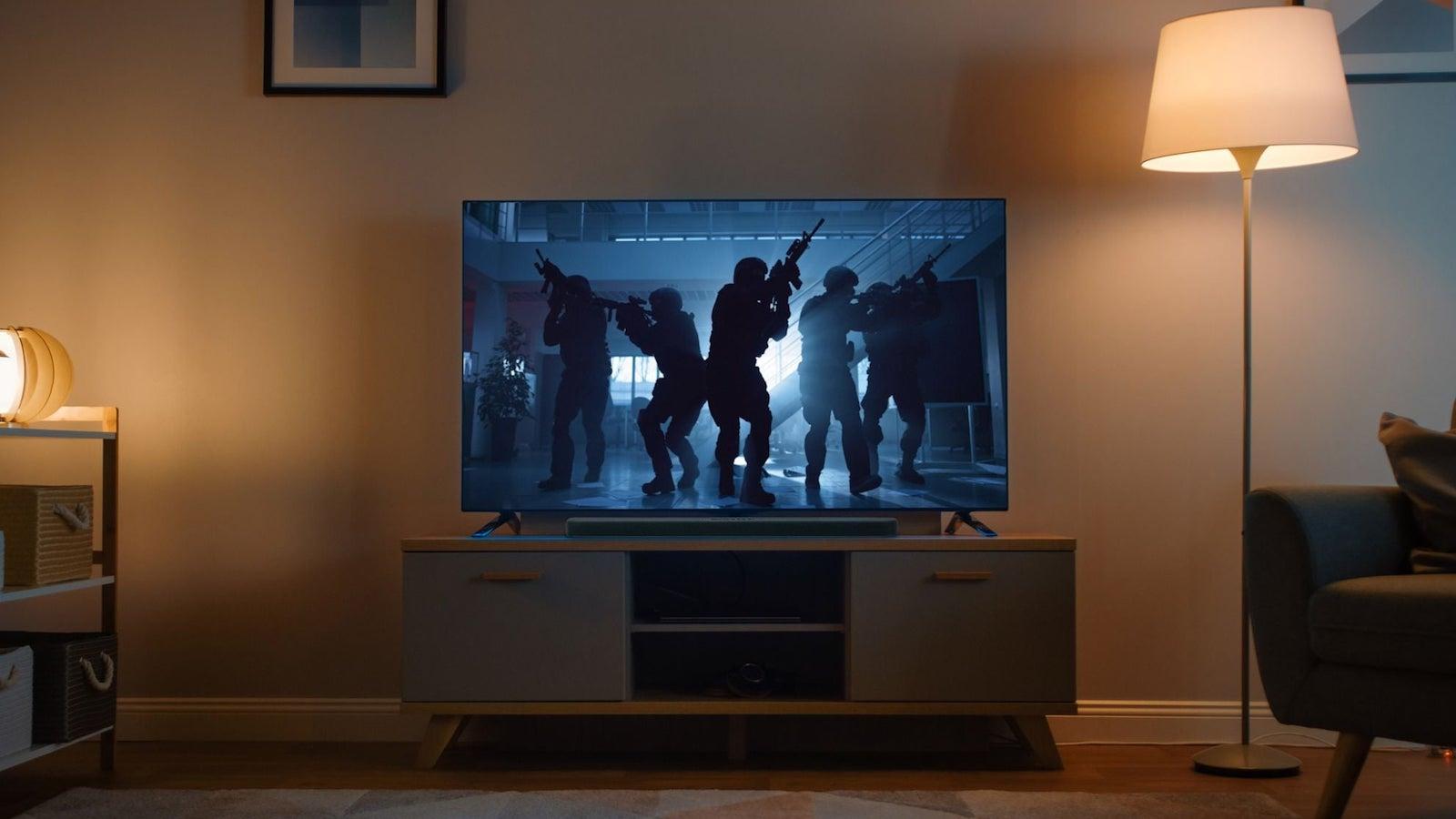 Yamaha SR-B20A home soundbar enhances dialogue clarity