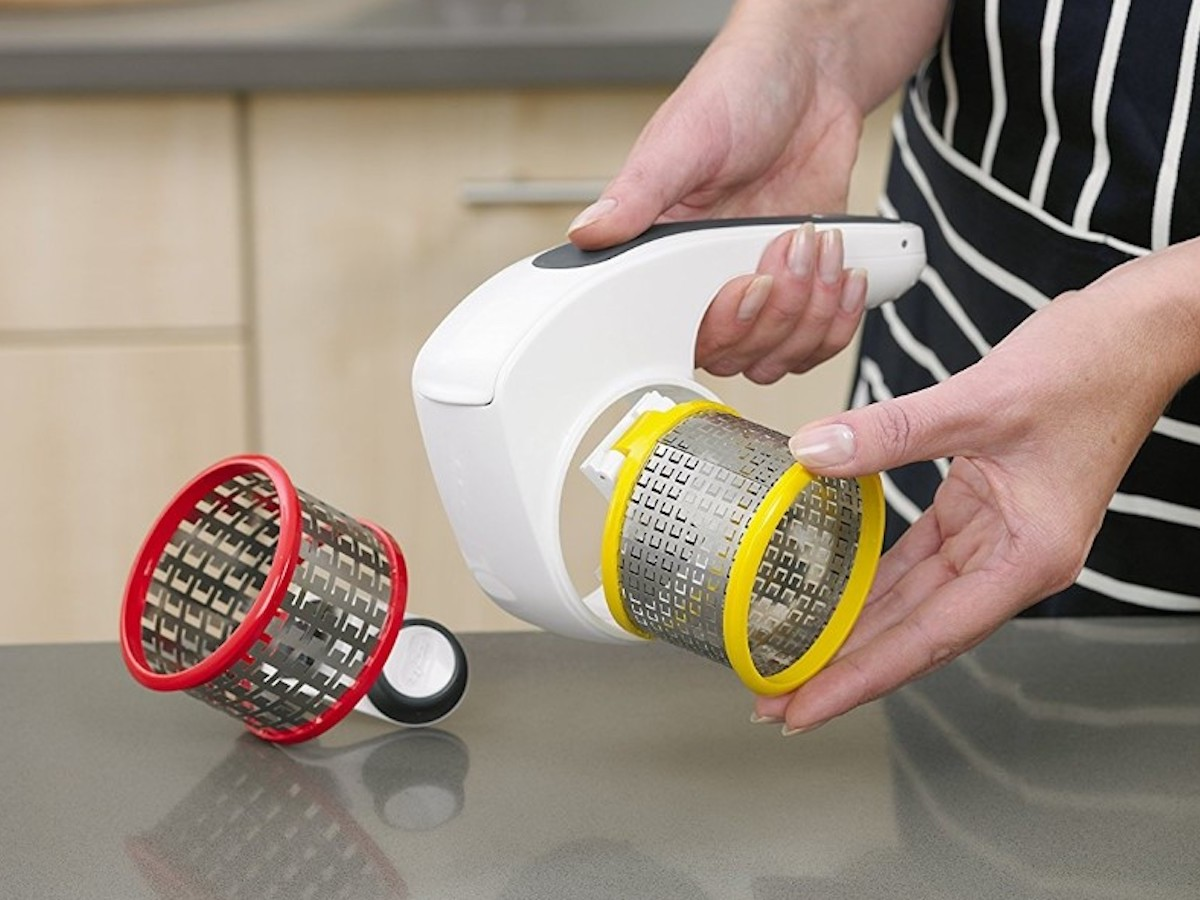 Zyliss Classic Rotary Cheese Grater food slicer quickly grates to save you time
