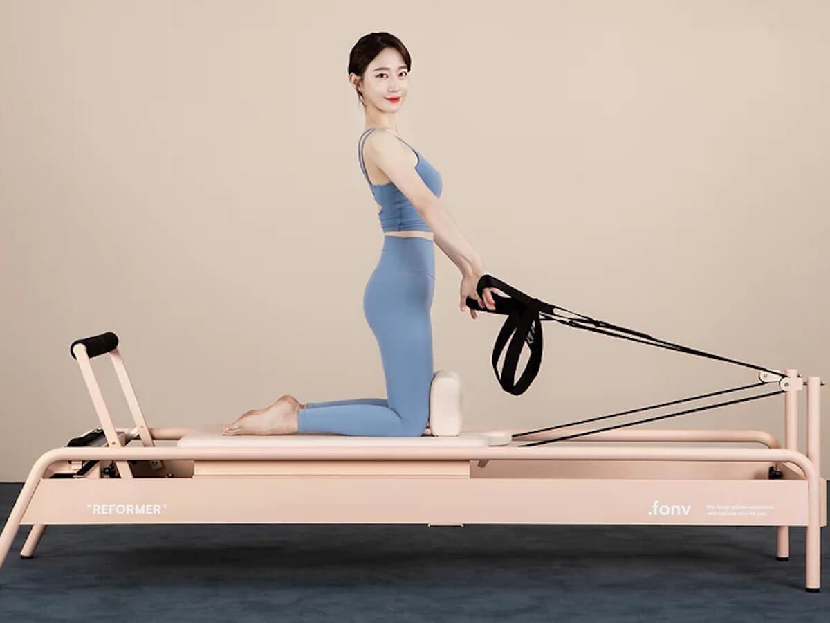 .fonv Reformer Pilates Equipment lets you get fit at home