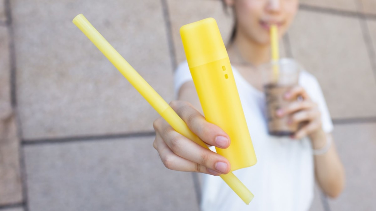 nubo Reusable Bio-PP Straw is durable for long-lasting use