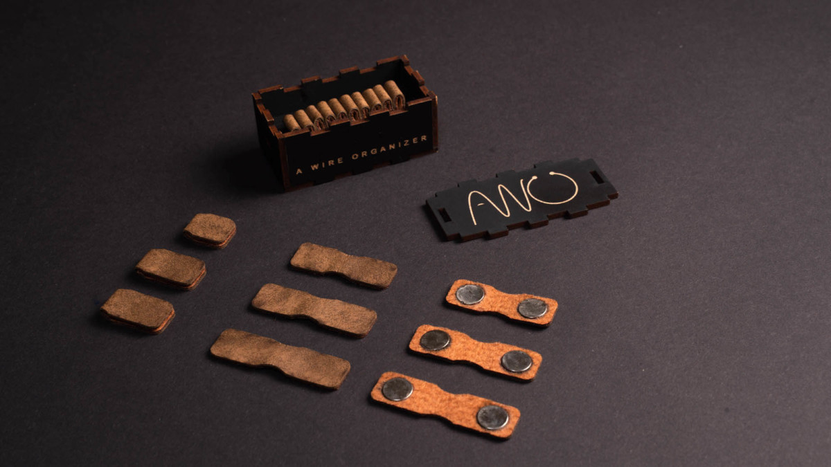 AWO: A Wire Organizer tangle-free cable solution helps you work more efficiently