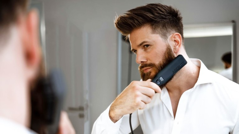 This beard straightener will make you look more professional