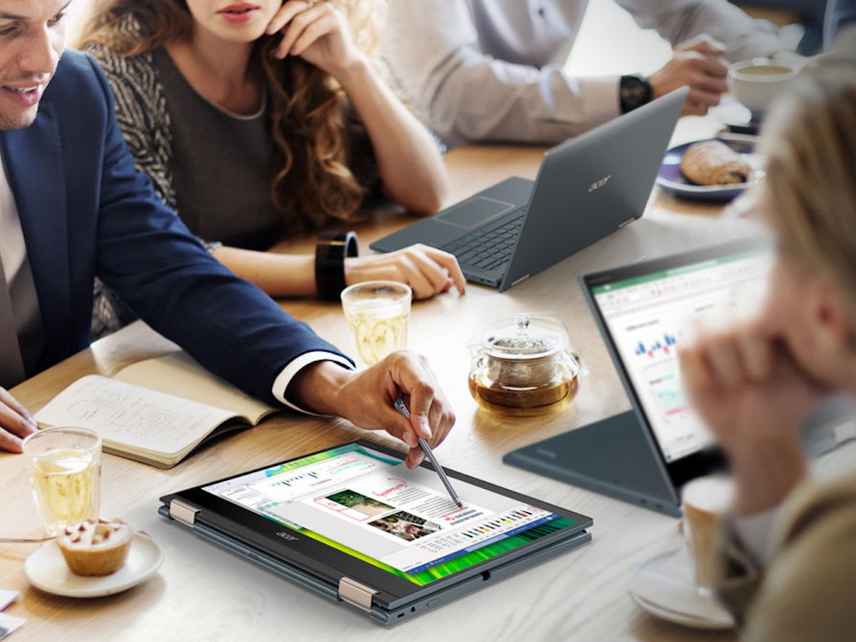 Acer Spin 7 convertible laptop is powered by Qualcomm Snapdragon 8cx Gen 2 5G