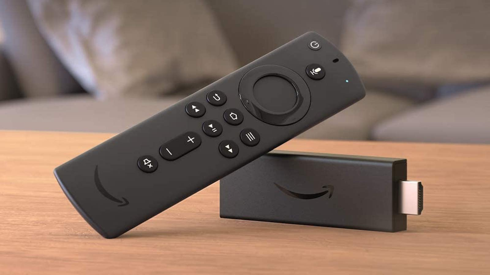 Amazon All-New Fire TV Stick comes with the Alexa Voice Remote