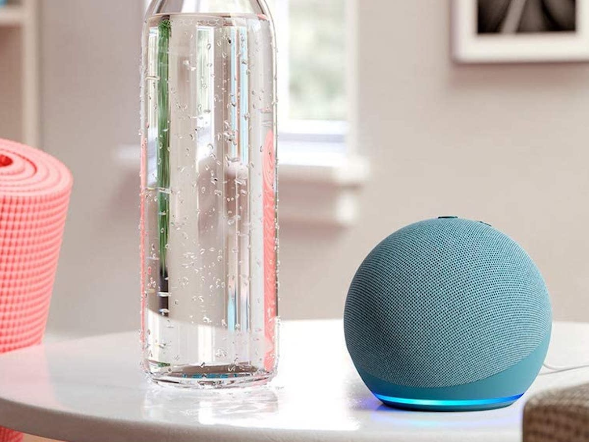 Amazon Echo Dot 4th-Generation smart speaker is smaller and rounder