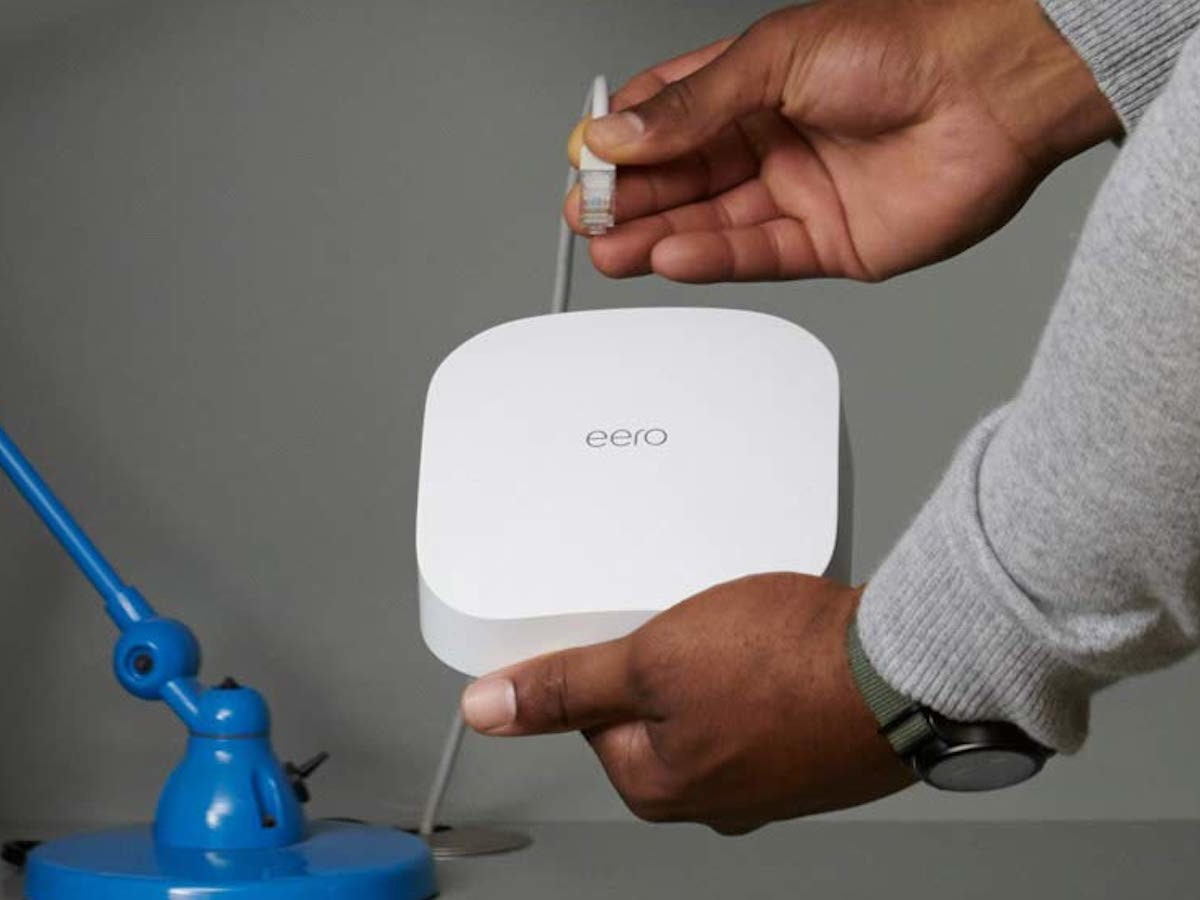 Amazon eero Pro 6 mesh Wi-Fi 6 router connects more than 75 devices at once