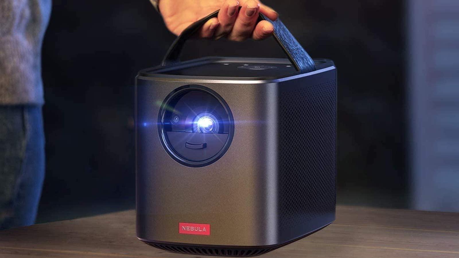 Anker Nebula Mars II Pro portable projector uses IntelliBright tech to emit 500 lumens