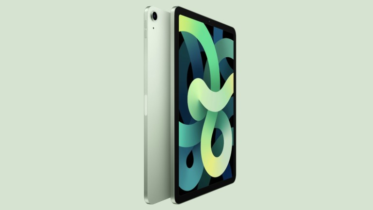 The New iPad Air has a gorgeous, neuroborder design with a USB-C port