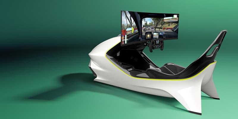 Aston Marton X Curv AMR-C01 Racing Simulator