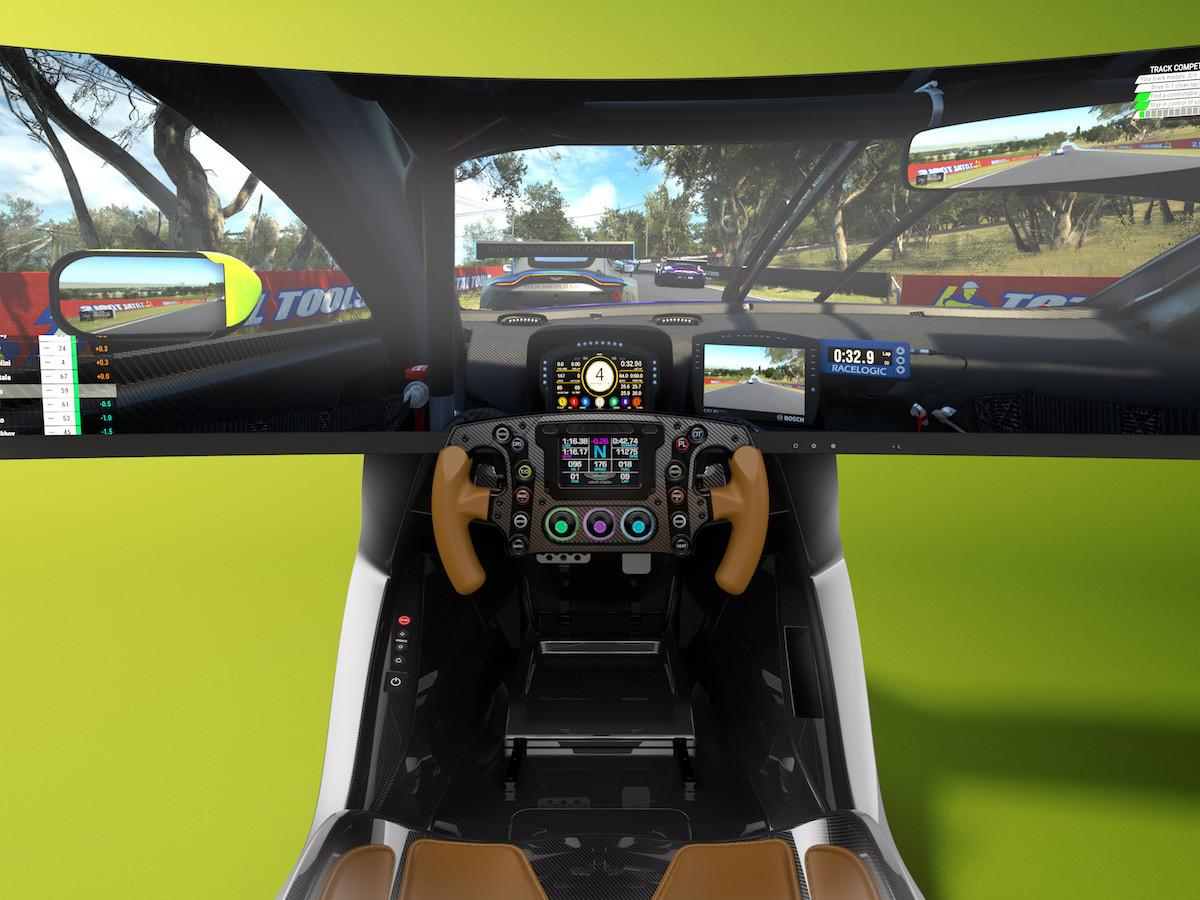 Aston Marton & Curv AMR-C01 racing simulator feels like driving an Aston Marton