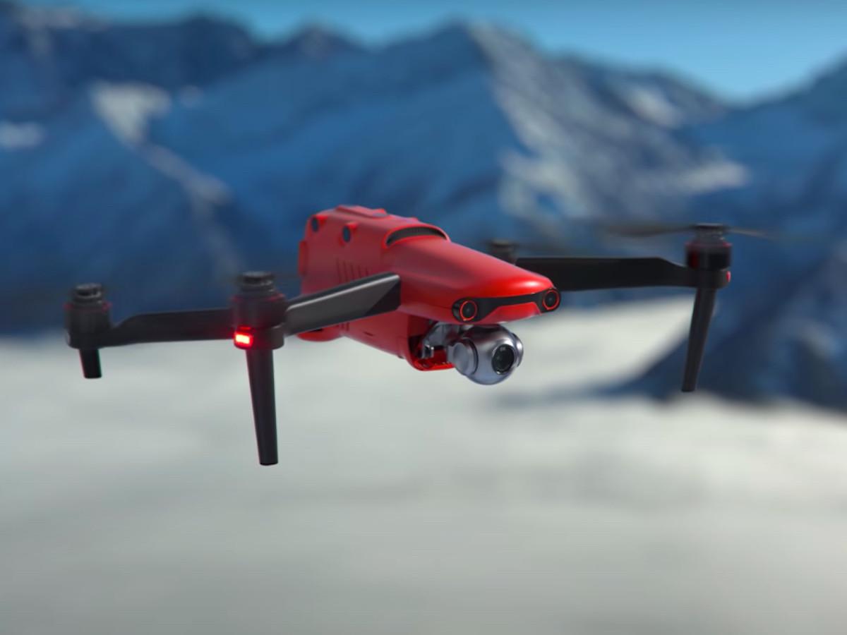 Autel EVO II Pro 6K folding drone features 360° obstacle avoidance