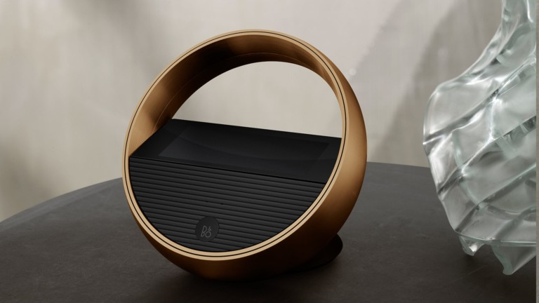 Bang & Olufsen Beoremote Halo music remote control navigates your sound system