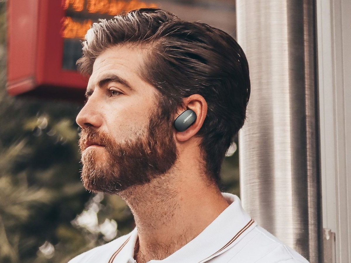 Bose QuietComfort Earbuds have adjustable noise-canceling technology