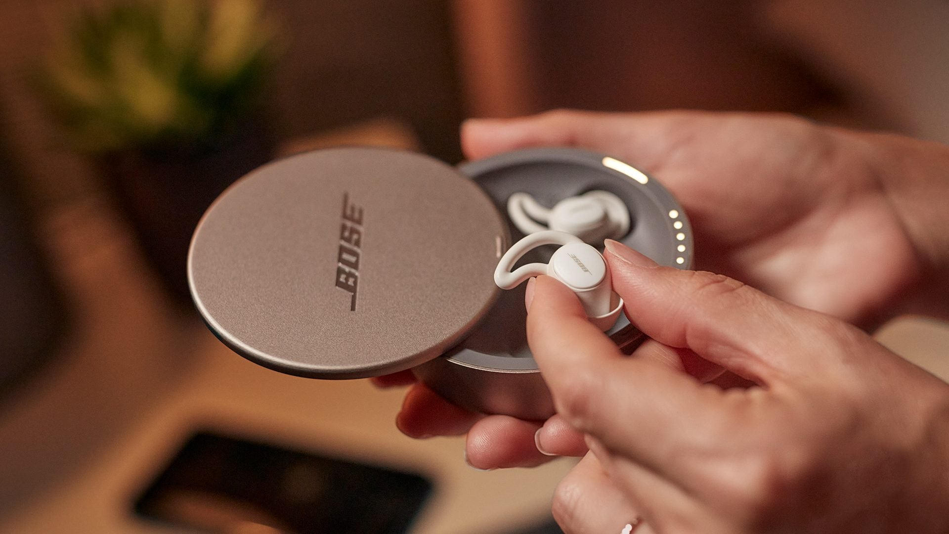Bose Sleepbuds II noise-masking earbuds delivers relaxing sound through the Bose Sleep app