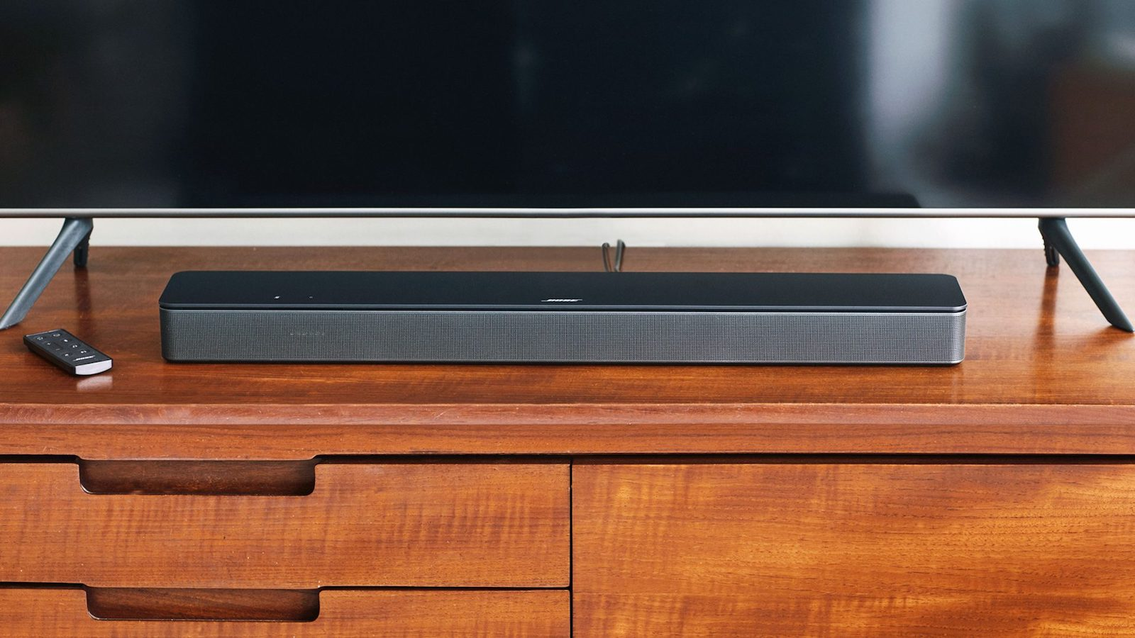 Bose Smart Soundbar 300 sleek speaker gives you spacious sound