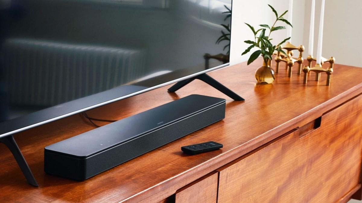 Bose Smart Soundbar 300 sleek speaker gives you spacious sound