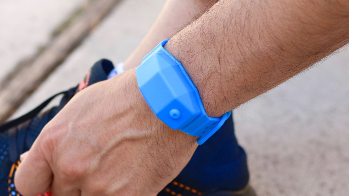 CleanWrist sanitizer bracelet keeps you safe wherever you go