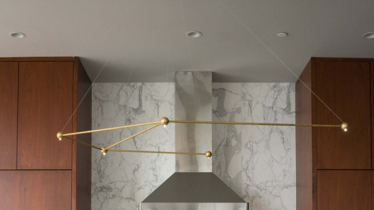 Constellation by Richard Clarkson Studio light system comes in the 12 Zodiac shapes