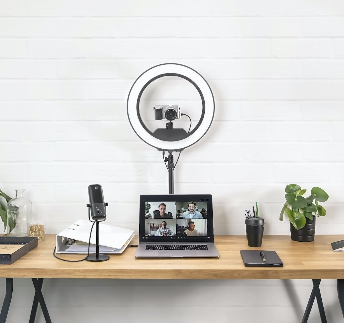 Elgato Ring Light illuminating lamp takes your productions up a notch