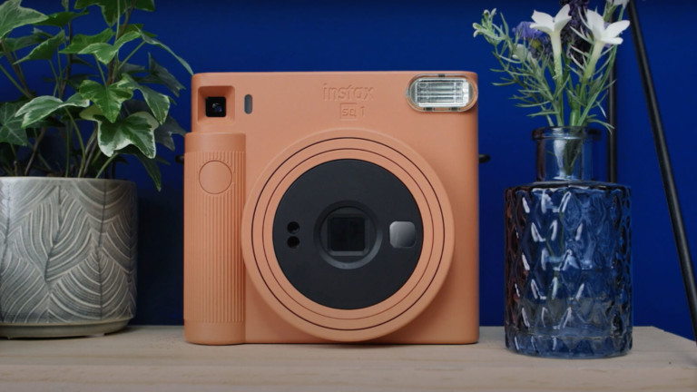 Instax SQUARE SQ1 instant camera produces photos in 90 seconds