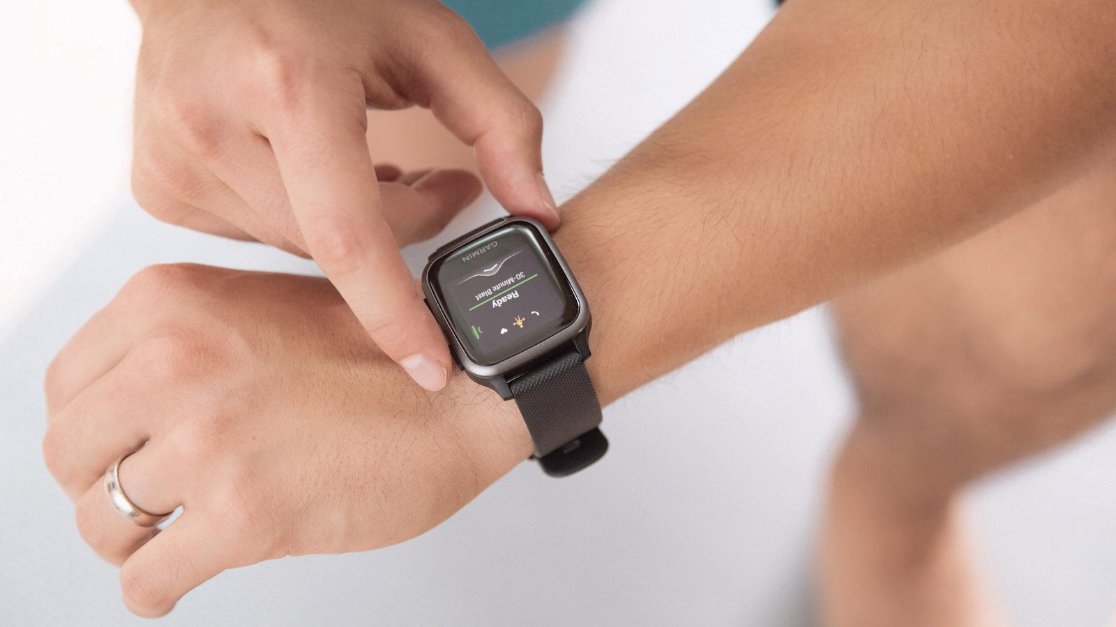 Garmin Venu Sq Music Edition smartwatch