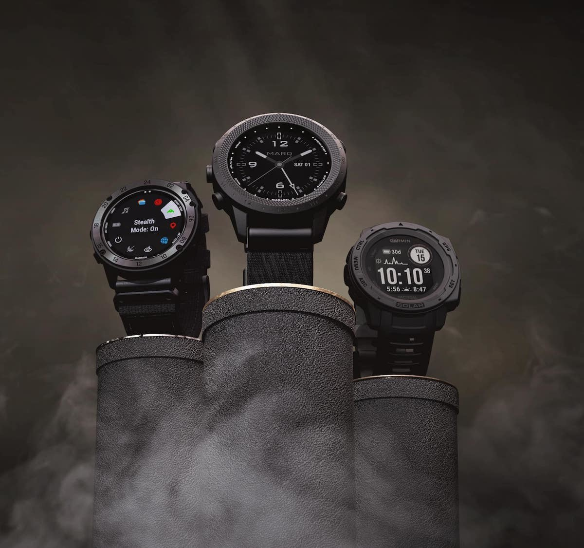 Garmin tactix Delta Solar Series specialized GPS smartwatches have a 24-day battery life