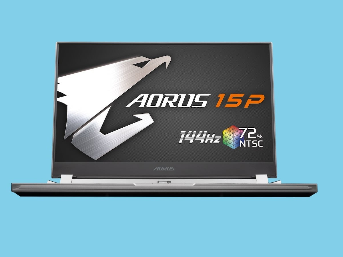 Gigabyte Aorus 15P portable laptop boasts all professional gamers need