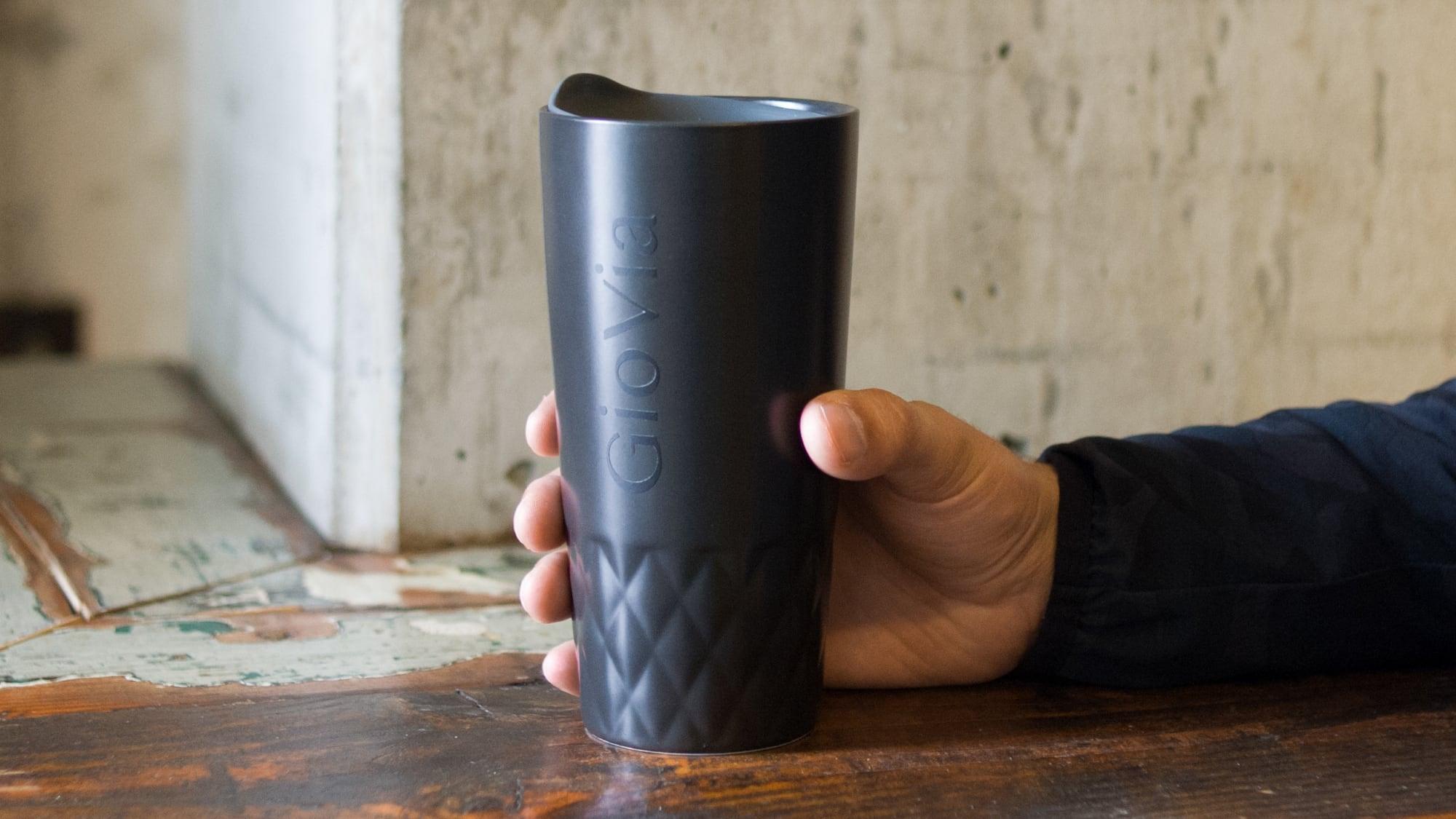 GioVia Double-Walled Porcelain Mug