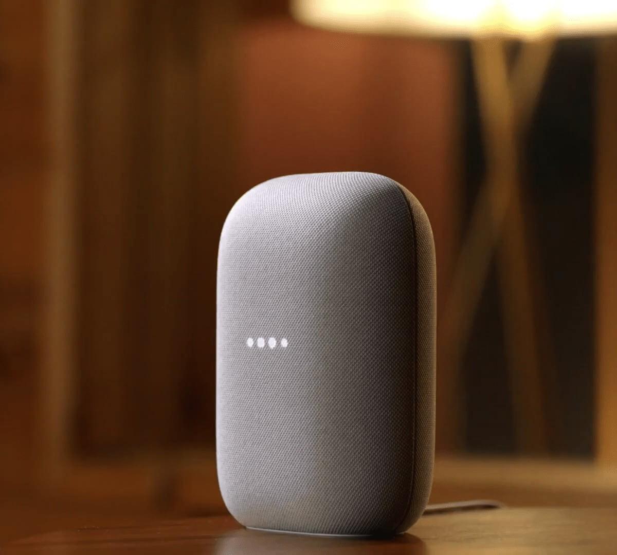 Google Nest Audio smart speaker delivers more bass and volume
