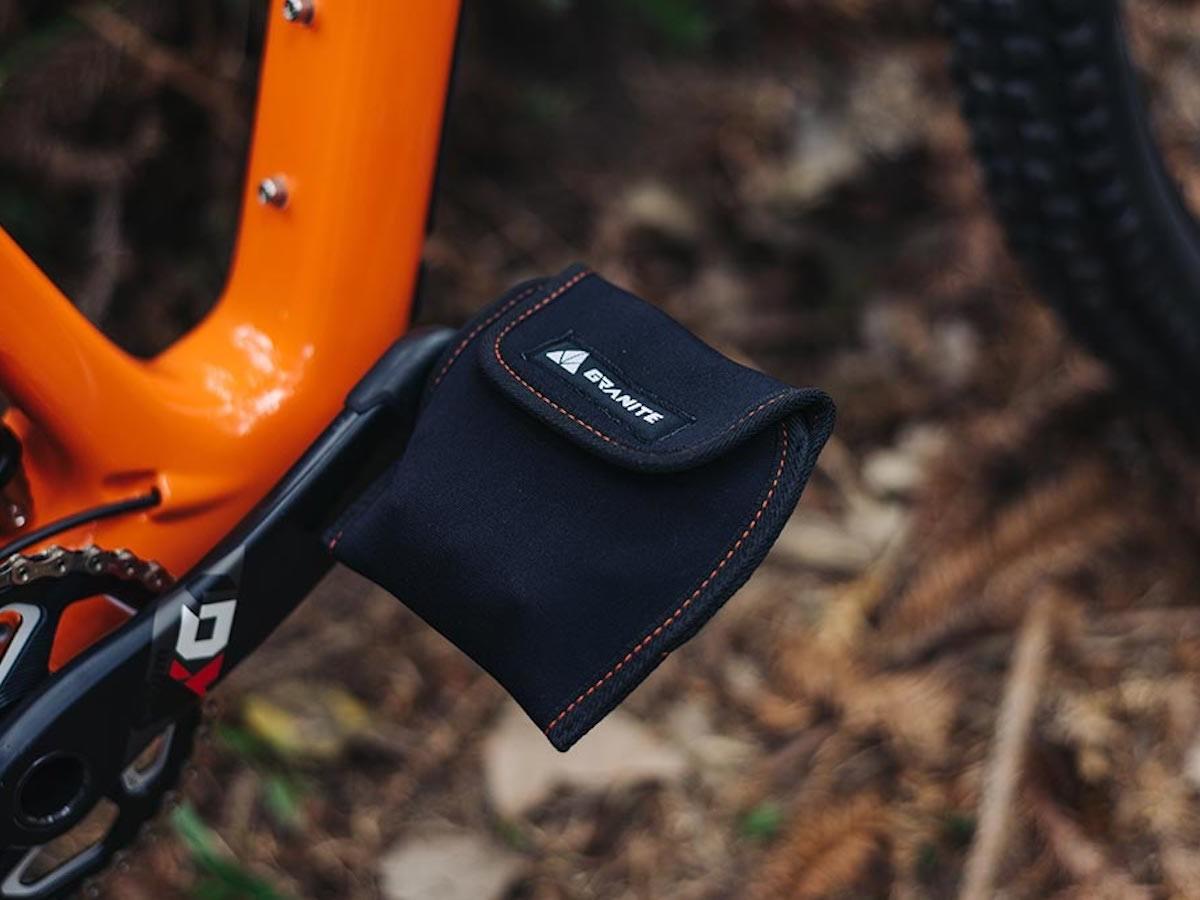 Granite Design PITA Pedal Cover bike protector avoids scratches and scuffs