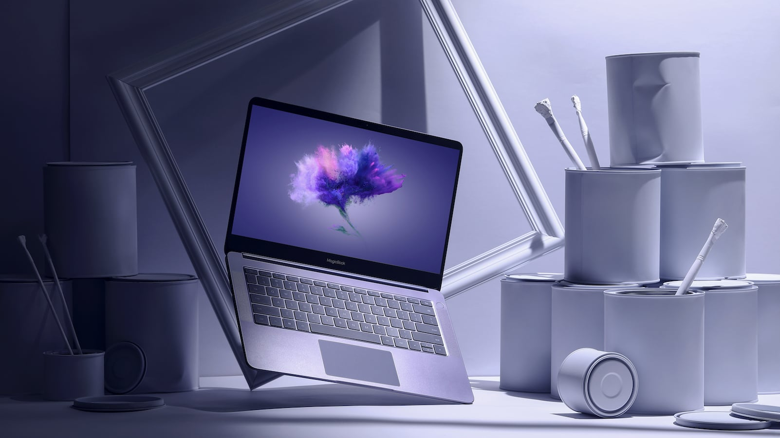 HONOR MagicBook-AMD laptop has a Dolby Atmos sound system