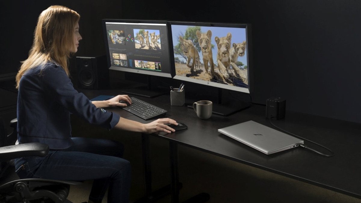 HP ZBook Power G7 large-memory laptop has an all-aluminum chassis
