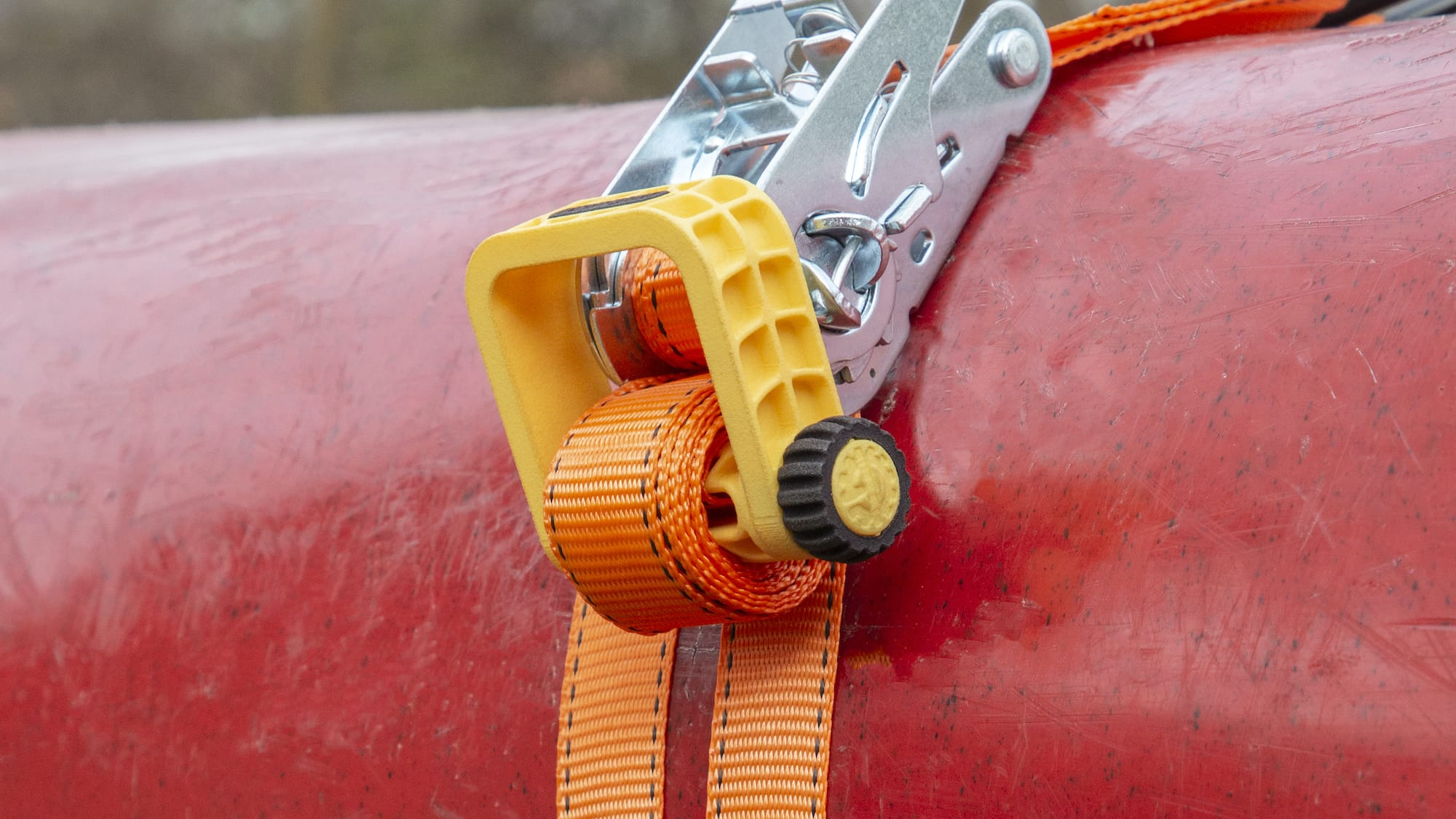 INDERGEAR Tidy Straps for tie-downs don't flap or make noise while you drive