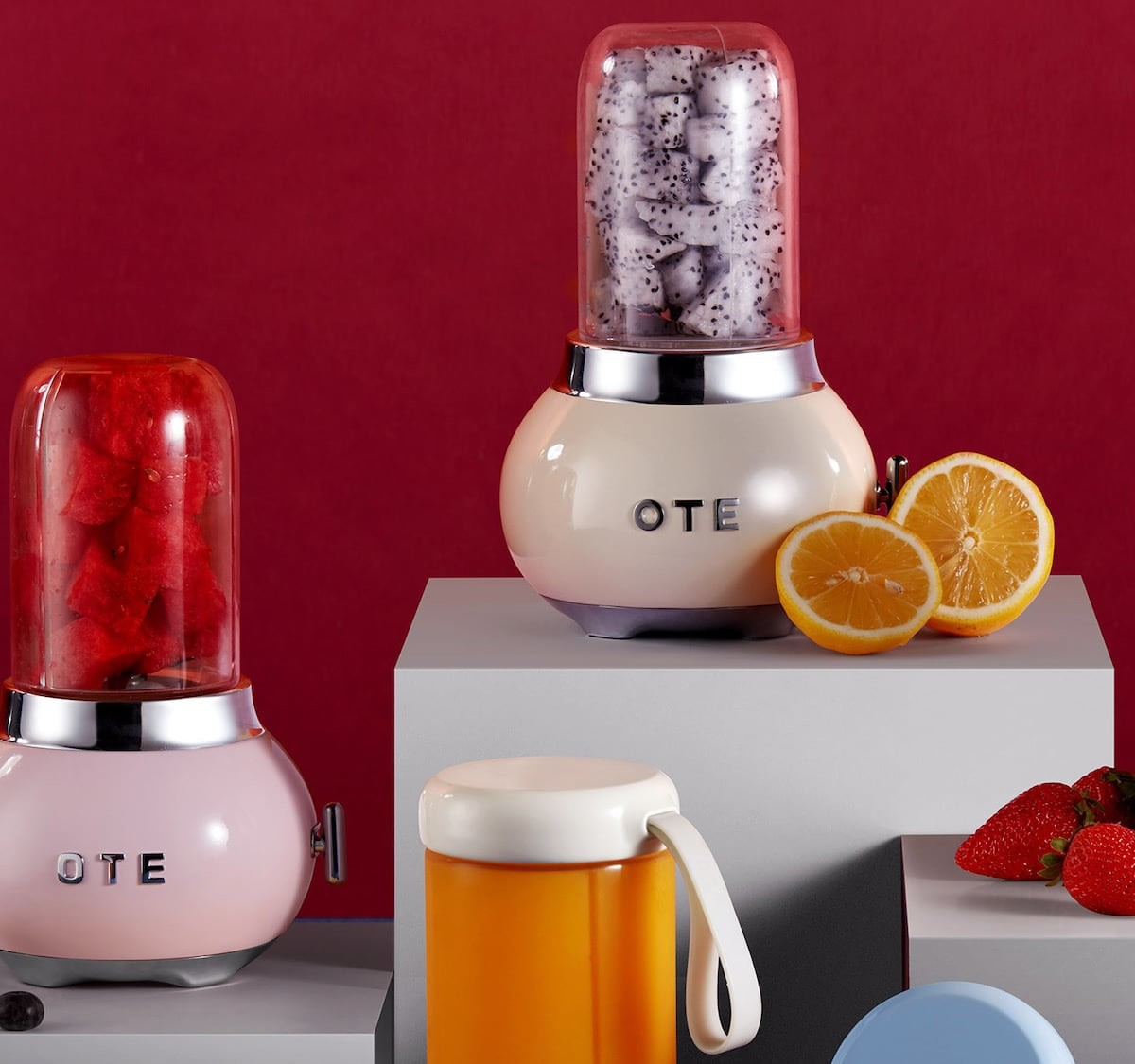 inDare OTE Juicer palm-size blender lets you take your smoothie anywhere