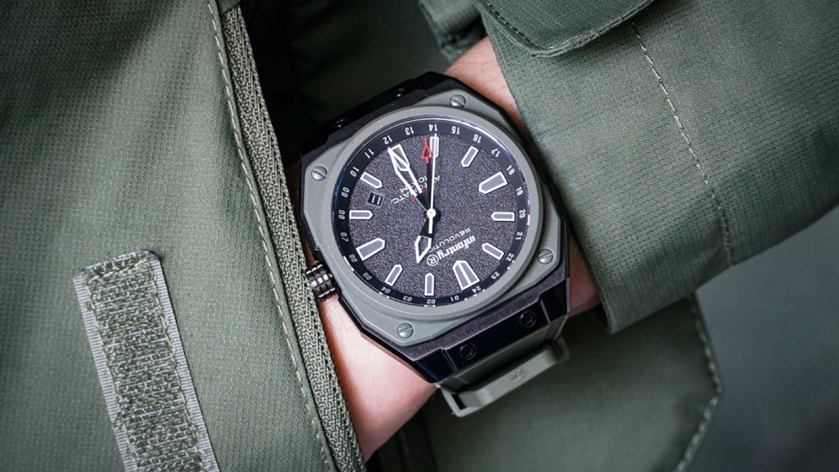 These exclusive modular watches are inspired by aviation