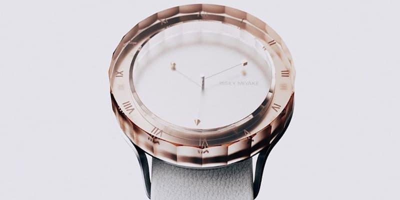 Issey Miyake Concept Watch Perfume-Inspired Jewelry
