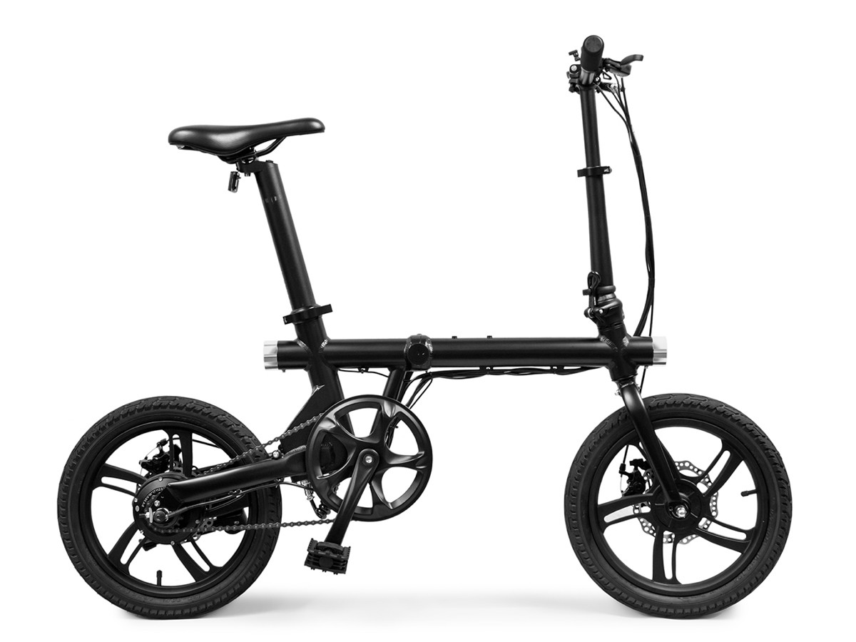 KwikFold X-ite 3A electric folding bike has an aluminum frame
