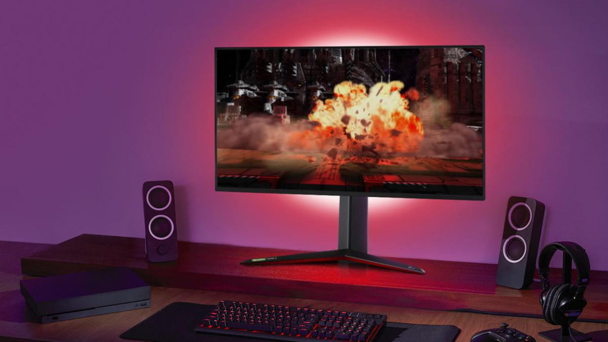 UltraGear 4K Gaming Monitor by LG has 400 nits of brightness