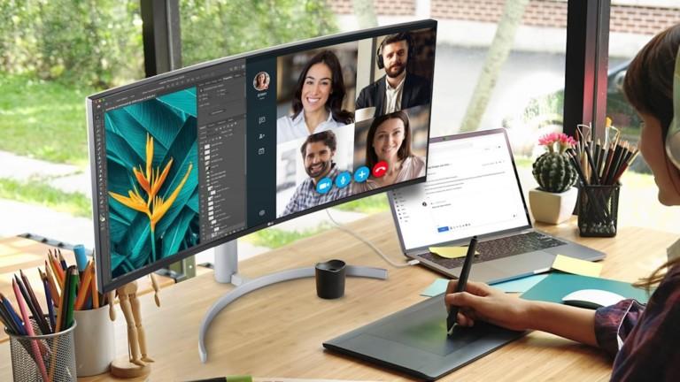 LG UltraWide 38WN95C multitasking monitor offers a 21:9 aspect ratio