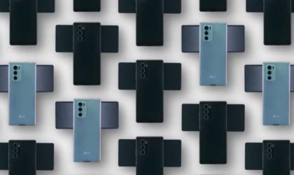 LG WING Swiveling Screen Smartphone
