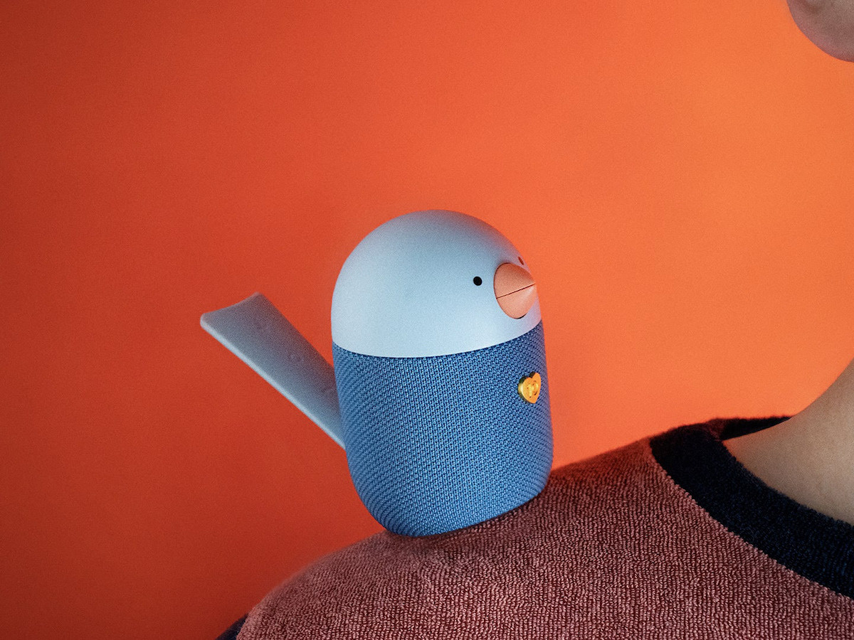 Libratone BIRD small Bluetooth speaker has interactive touch controls