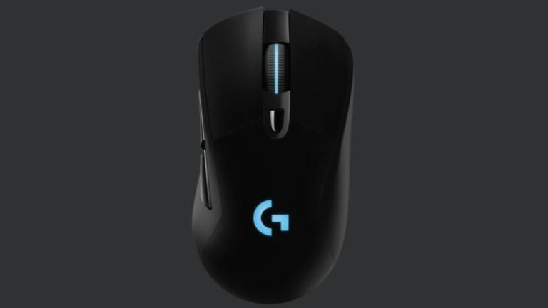 Logitech G703 lightspeed gaming mouse features a HERO sensor