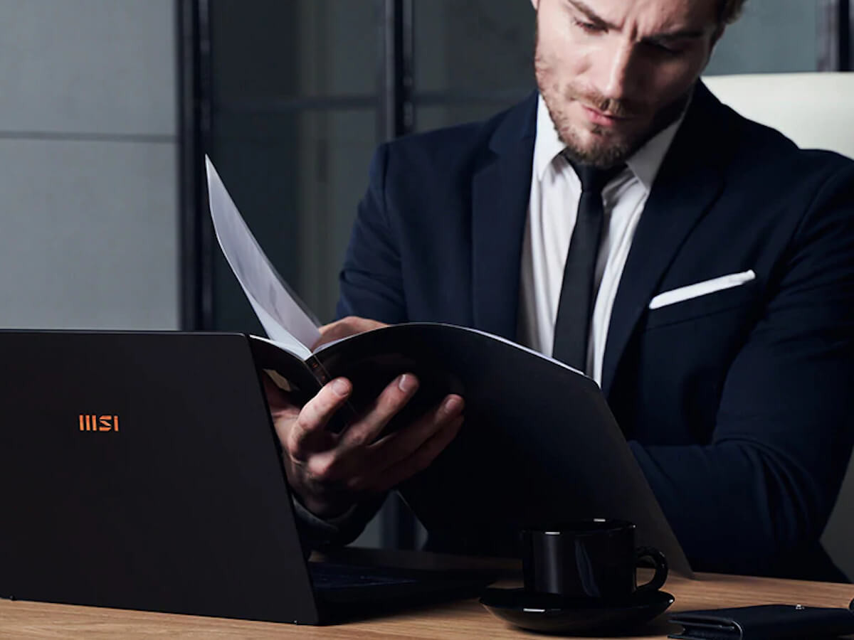 MSI Summit E Series business laptops use the 11th-Gen Intel processor