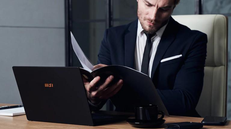 MSI Summit E Series business laptops use the 11th Gen Intel processor