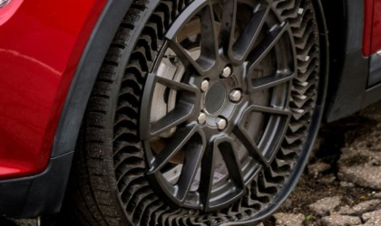 Michelin Uptis Airless Vehicle Wheel