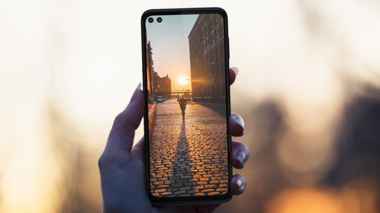 Motorola One 5G HD smartphone has a quad-lens rear camera