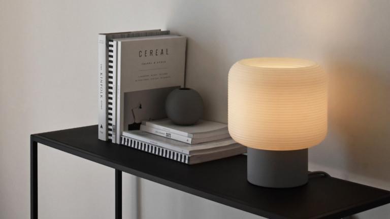 Maskor Table Light relaxing lamp provides a calm bedtime setting