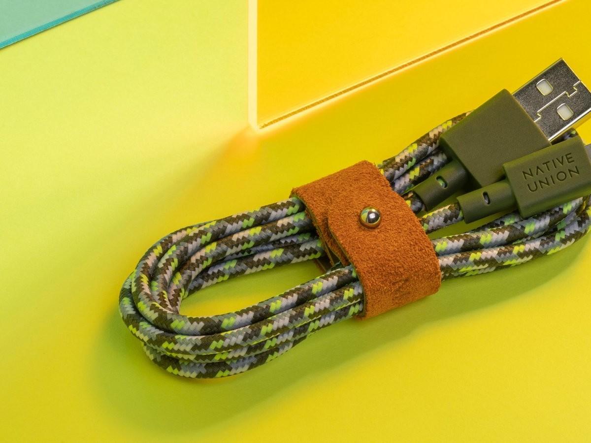 Native Union x Maison Kitsuné Belt Cable doesn't get tangled