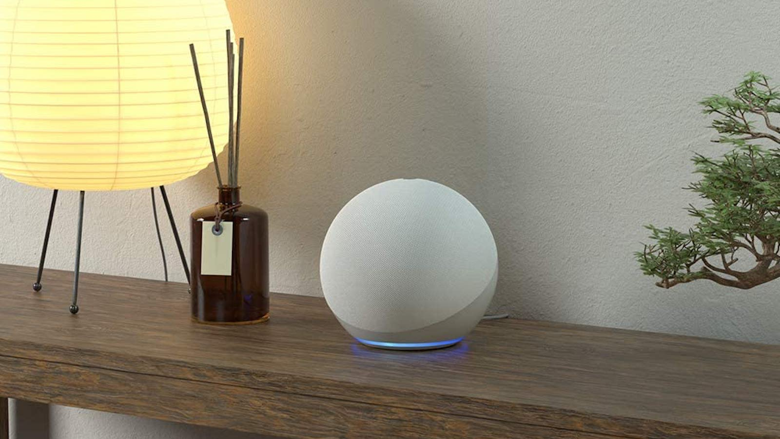 New Amazon Echo 4th-generation smart speaker comes in a spherical shape