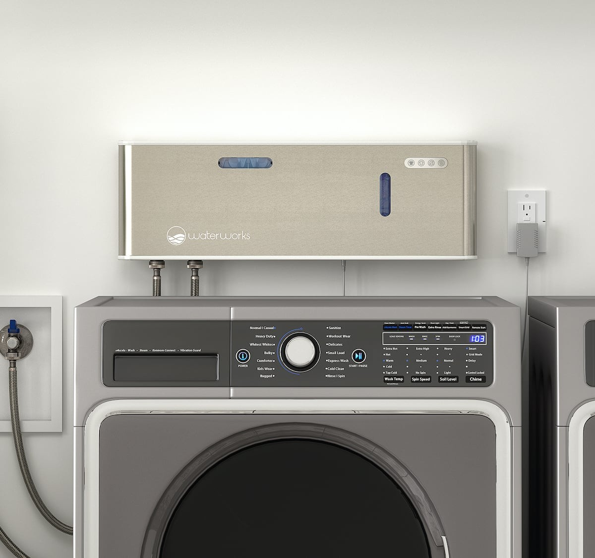 o3waterworks smart laundry system for detergent-free cleaning uses the power of Aqueous Ozone